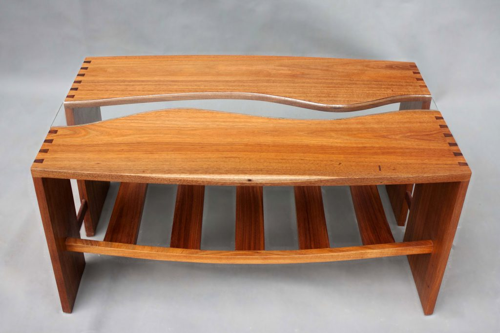 Blackwood + Glass Coffee Table (1) - Bim Morton